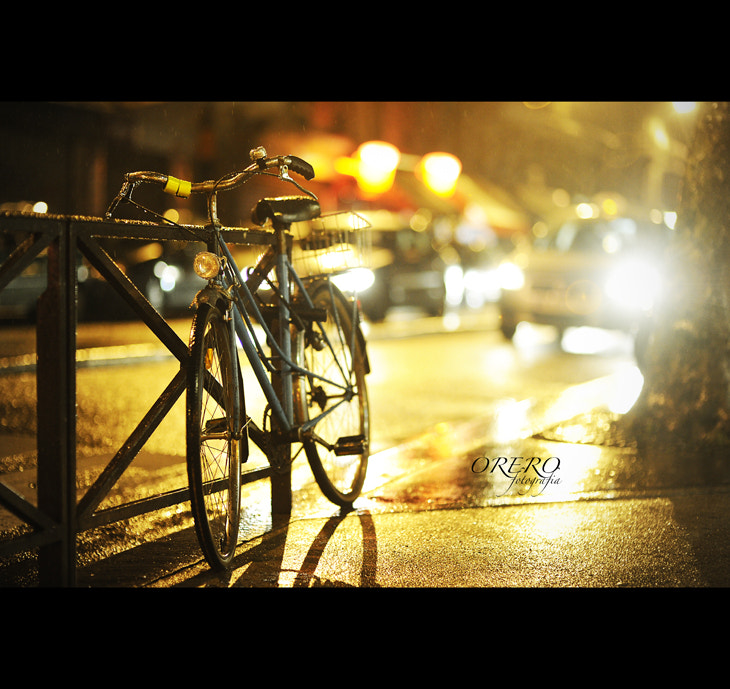 Photograph Paris night bike soul by Manuel Orero on 500px