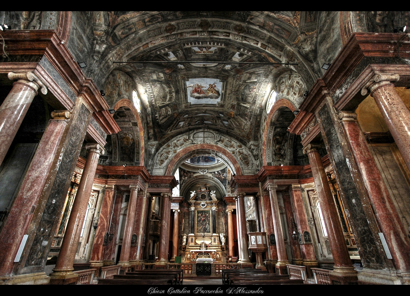 Photograph *Chiesa Cattolica Parrocchia S.Alessandro* by erhan sasmaz on 500px