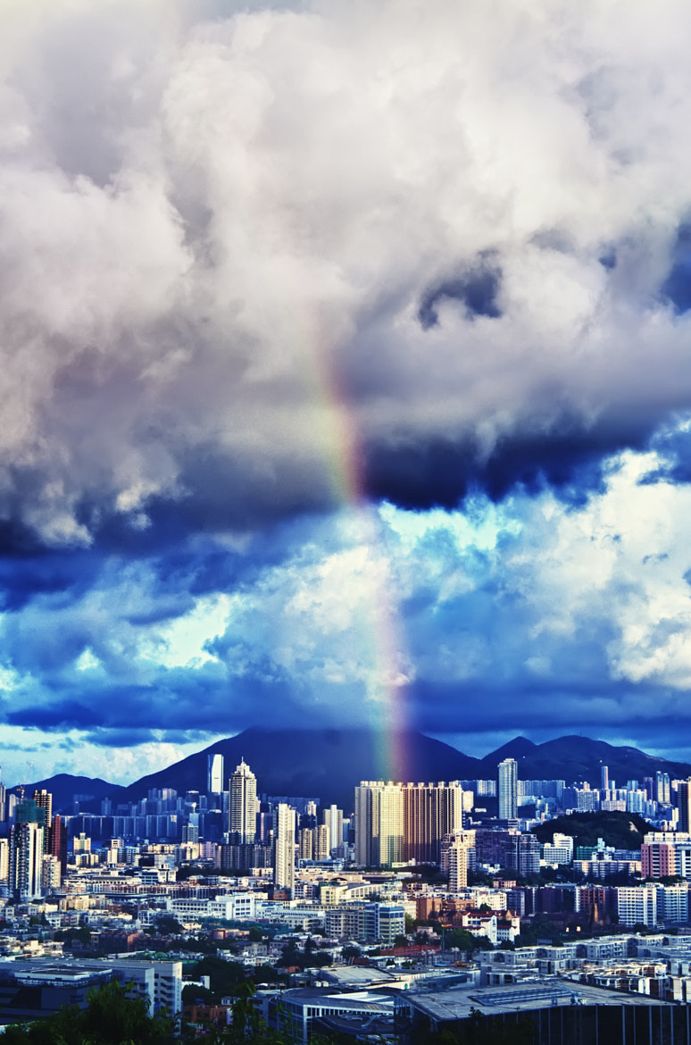 Photograph rainbow high by Maseedis Kay on 500px
