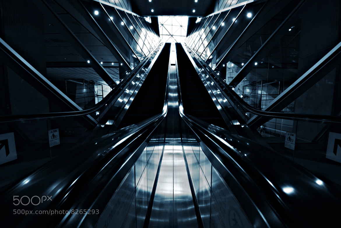 Photograph Escalator by osa mu on 500px