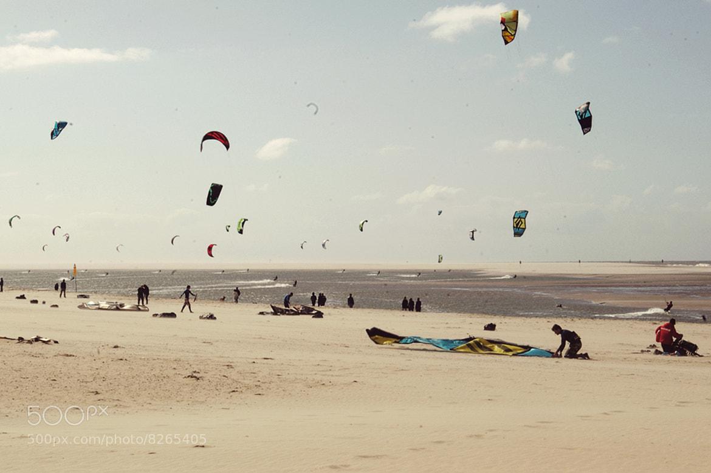 Photograph kitesurfing by Sebastiaan  van Venetiën on 500px