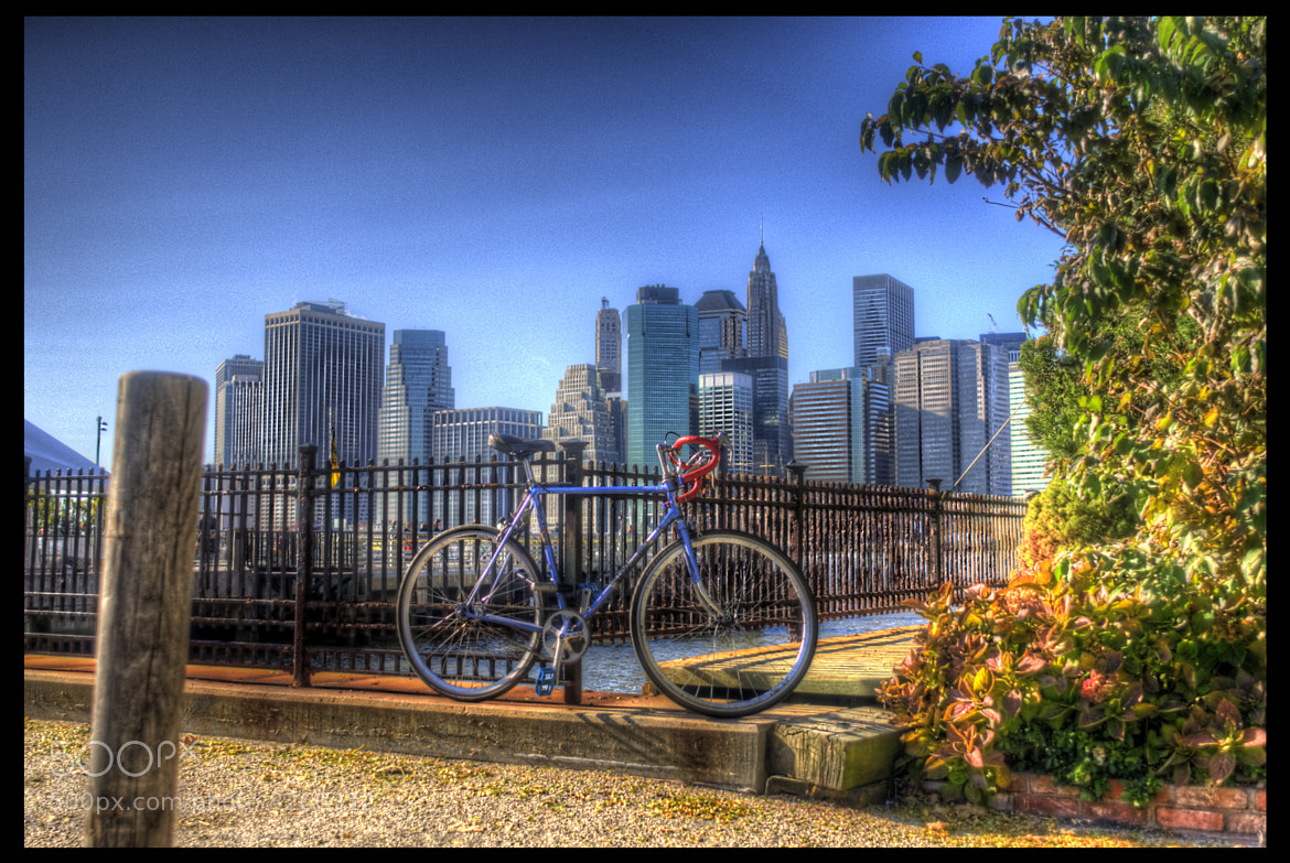 Photograph The Bike and the City.... by Mauricio Arango on 500px