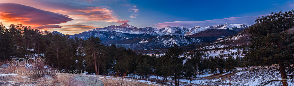 Photograph Long's Peak Panorama by Ernesto Del Aguila III on 500px