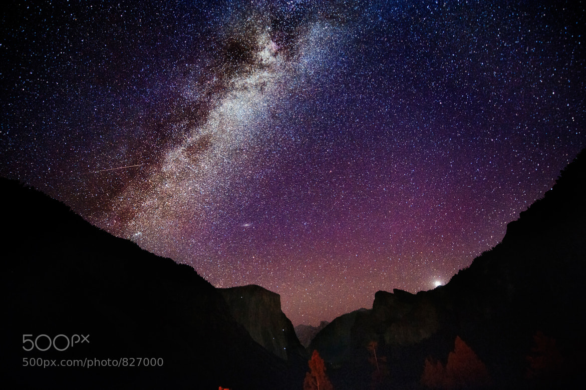Photograph Andromeda and the alpinists on El Capitan by Justin Kern on 500px
