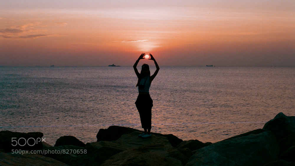 Photograph the sun's girl by AM Renault on 500px