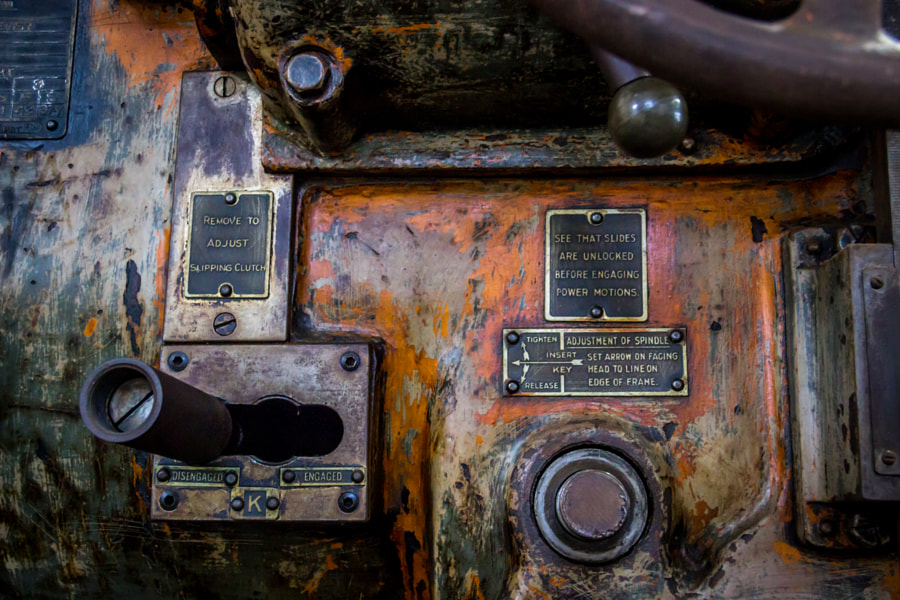 Old machinery by Luca Gaverina on 500px.com
