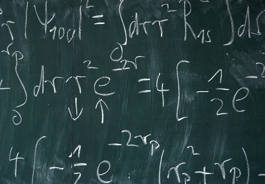 Math Blackboard by Mr Doomits on 500px.com