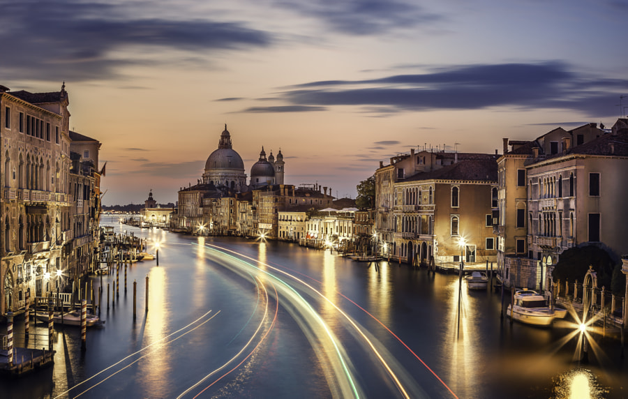 Photograph Venetian sunset by Dan Muntean on 500px