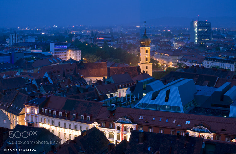 Photograph Graz by night by Anna Kovaleva on 500px