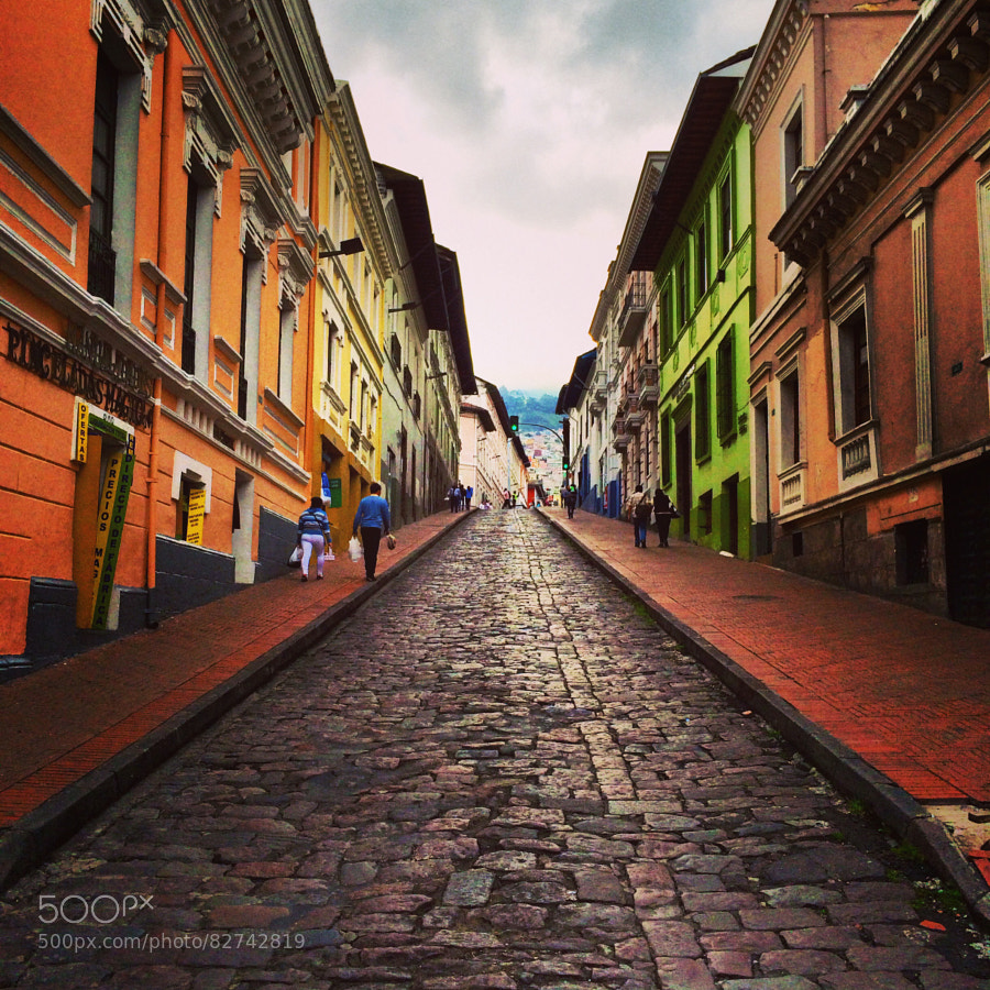 Photograph Quito Colonial by Fausto Lozada on 500px