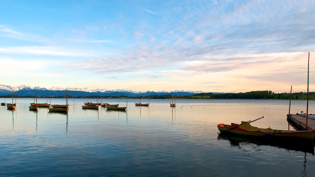 Photograph boats on the lake by Severin Lang on 500px