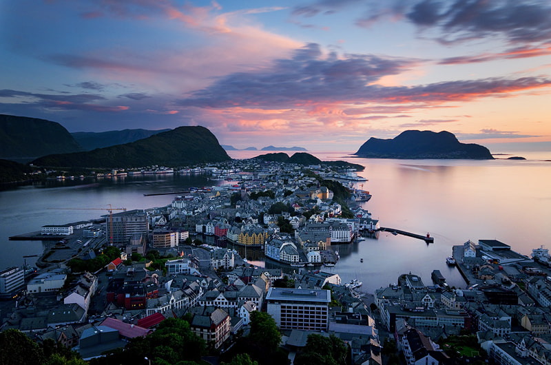 Photograph Peaceful Alesund by Alessandro Petrini on 500px