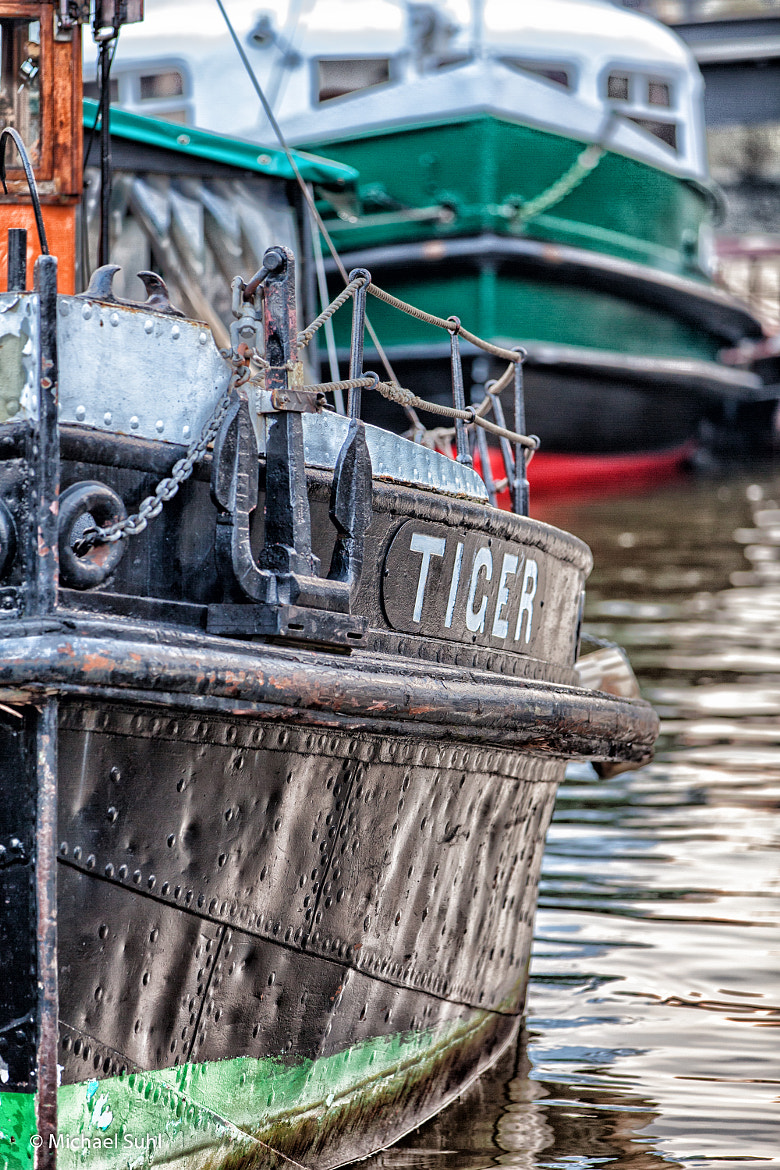 Photograph old steam boat by Michael Suhl on 500px