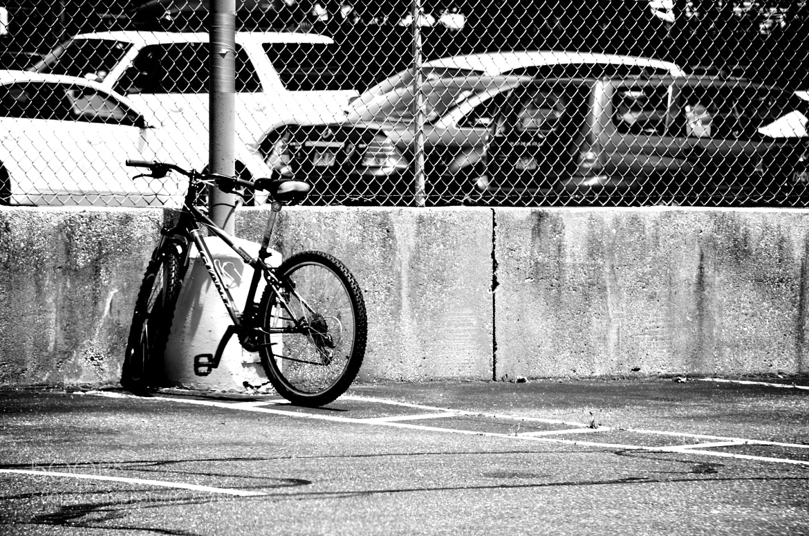 Photograph Bike Black and White by C.K. Sample III on 500px