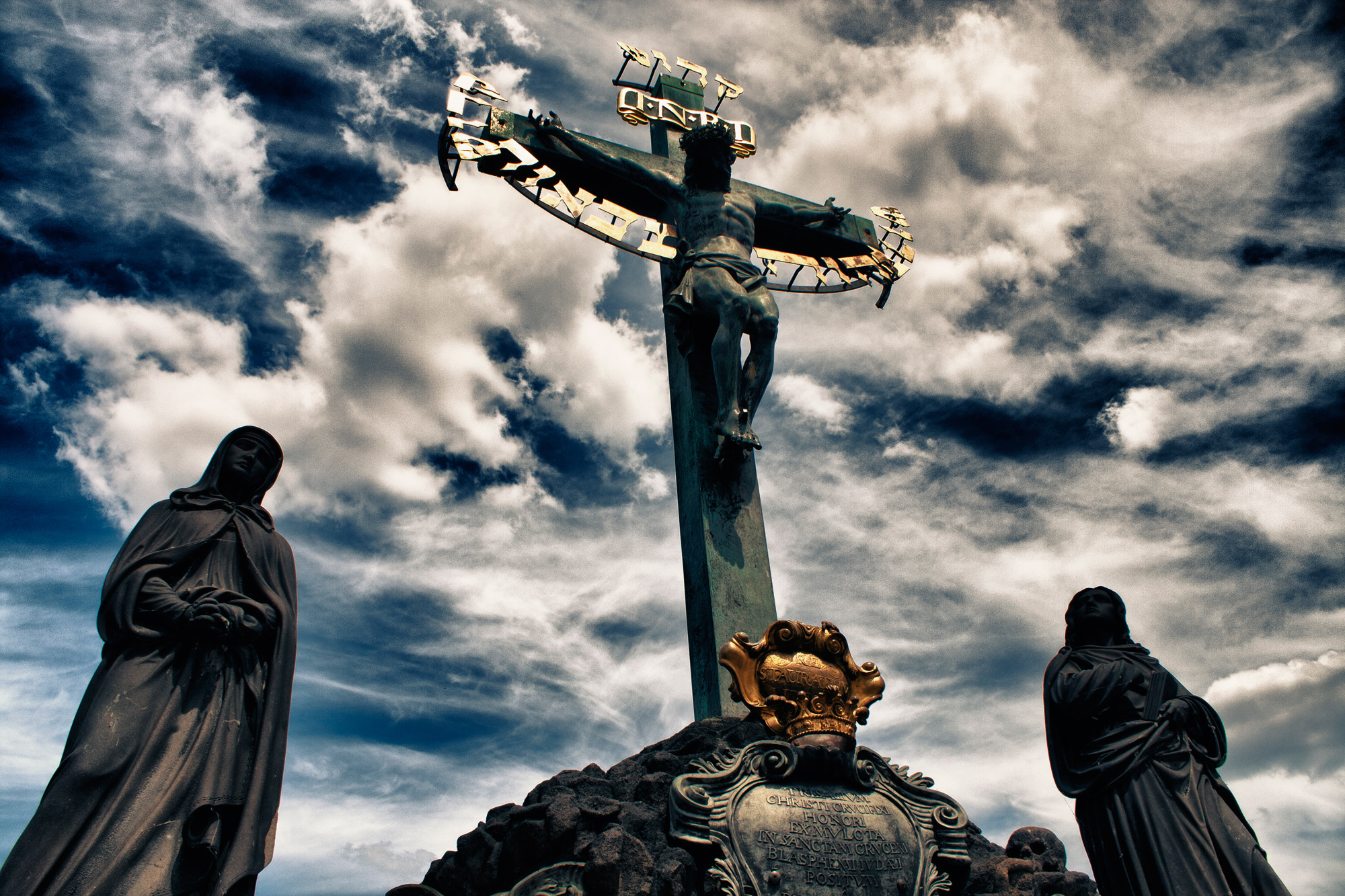 Photograph Christ damaged by Seyhan Gungor on 500px