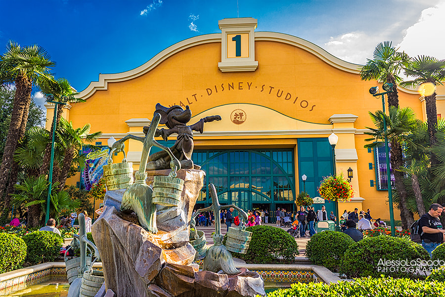 Photograph Welcome to Walt Disney Studios by Alessio La Spada on 500px