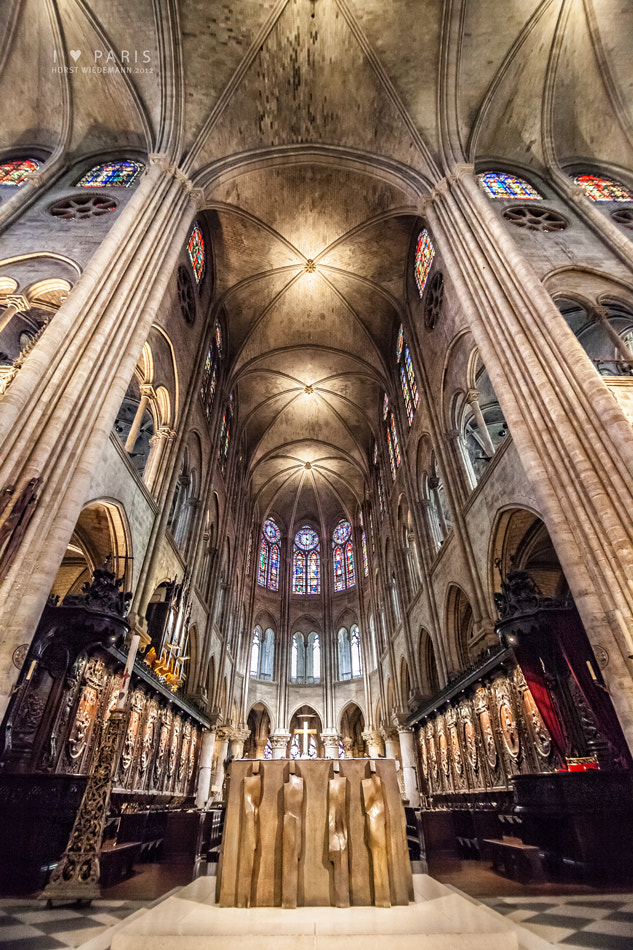 Photograph Notre Dame by Horst Wiedemann on 500px