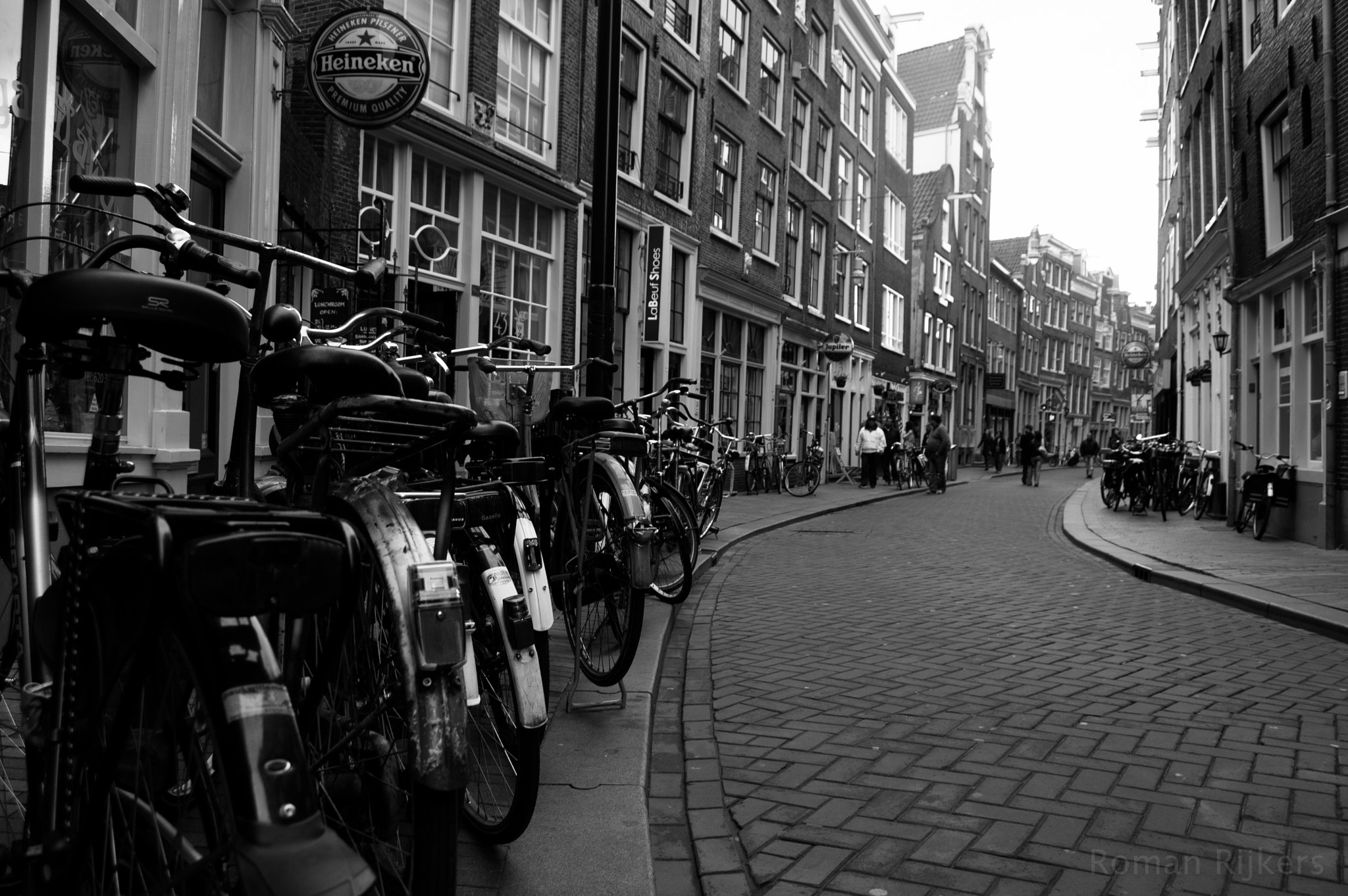 Photograph Amsterdam in Black and white by Roman Rijkers on 500px