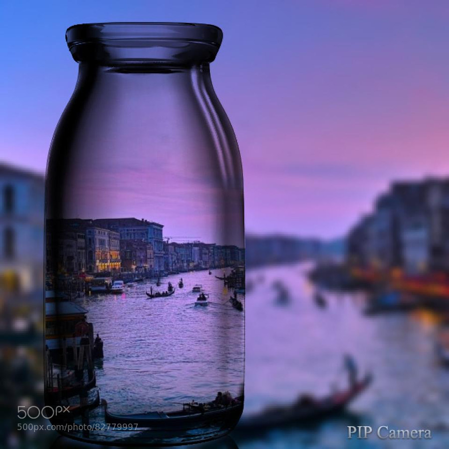 Photograph Venice in the bottle by Yossini KAWAHARA on 500px