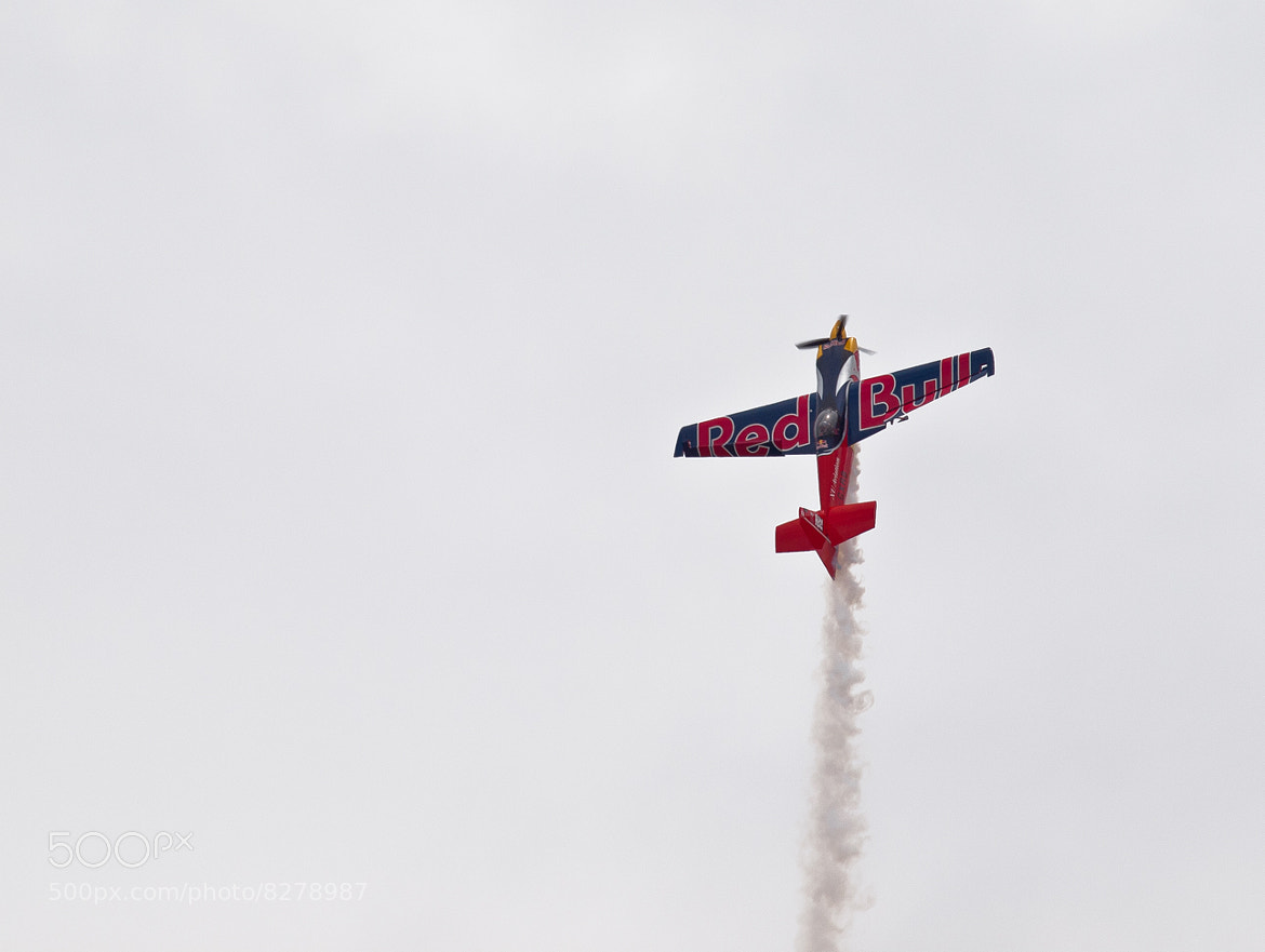 Photograph Pete MacLeod and Red Bull flying at waterloo airshow by Kevin  Pepper on 500px