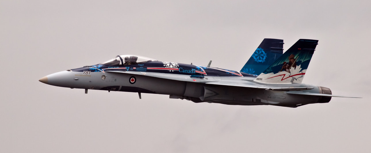 Photograph CF-18 Demonstration Team at Waterloo Airshow by Kevin Pepper on 500px