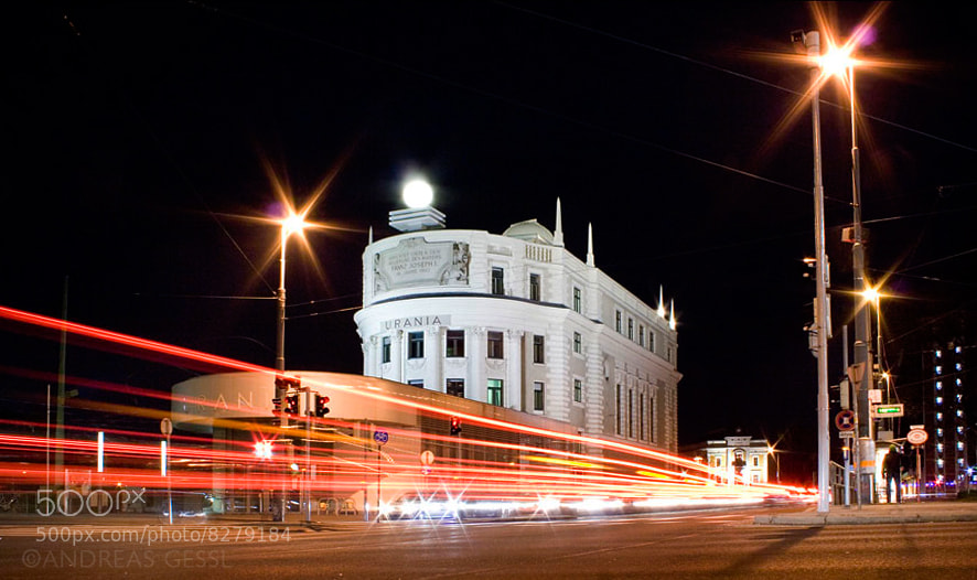 Photograph Urania Wien by Andreas Gessl on 500px