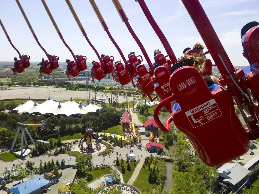 Photograph Top of the Windseeker by John Velocci on 500px