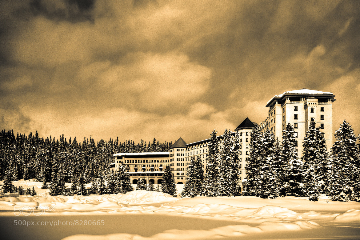 Photograph Fairmont Chateau Lake Louise by Norbert Weiss on 500px