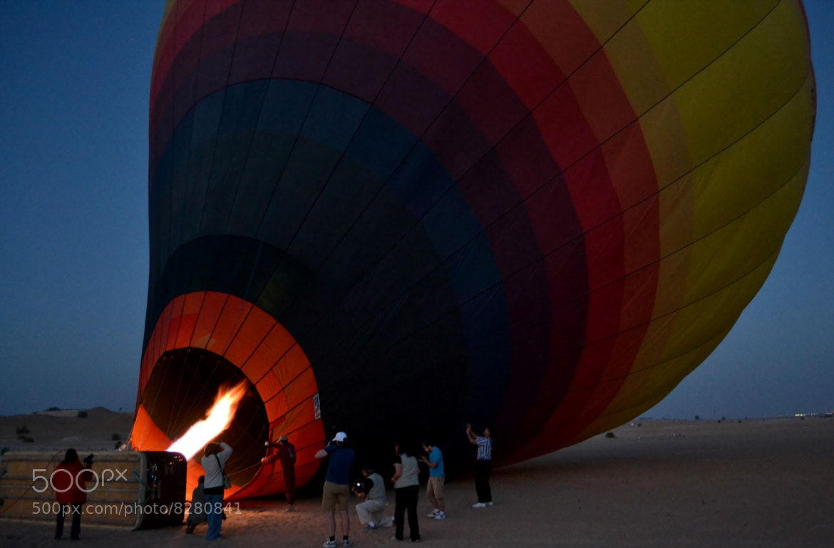 Photograph Sunrise in hot ballon by Gabriela Agra Porter on 500px