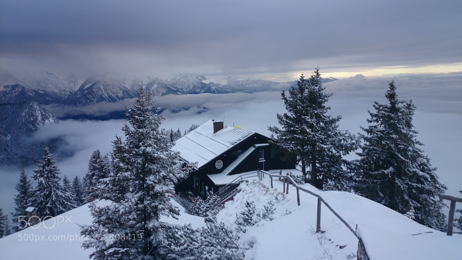 Photograph A Hut on the Tegelberg by nezabvennaja  on 500px