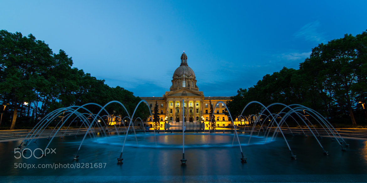Photograph Legislature Building Edmonton Alberta by Luis Durazo on 500px