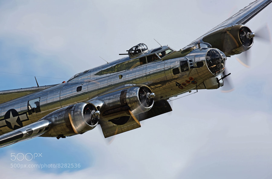 This Boeing B-17G Flying Fortress is owned and operated by the Yankee Air Museum.  During air shows, it gives rides for hire.  The price per flight depends on where you want to sit.  The bombardier's position is the most sought after and most expensive.