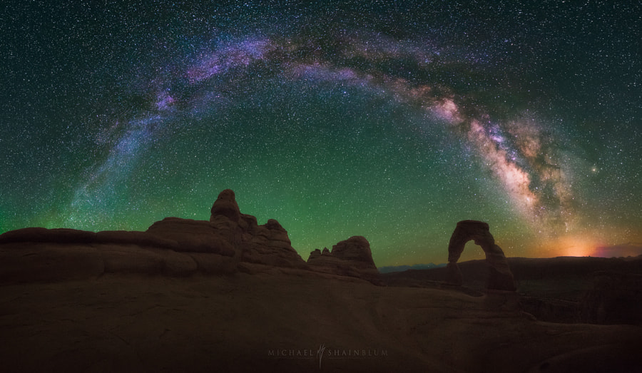 Photograph Double Arches by Michael Shainblum on 500px