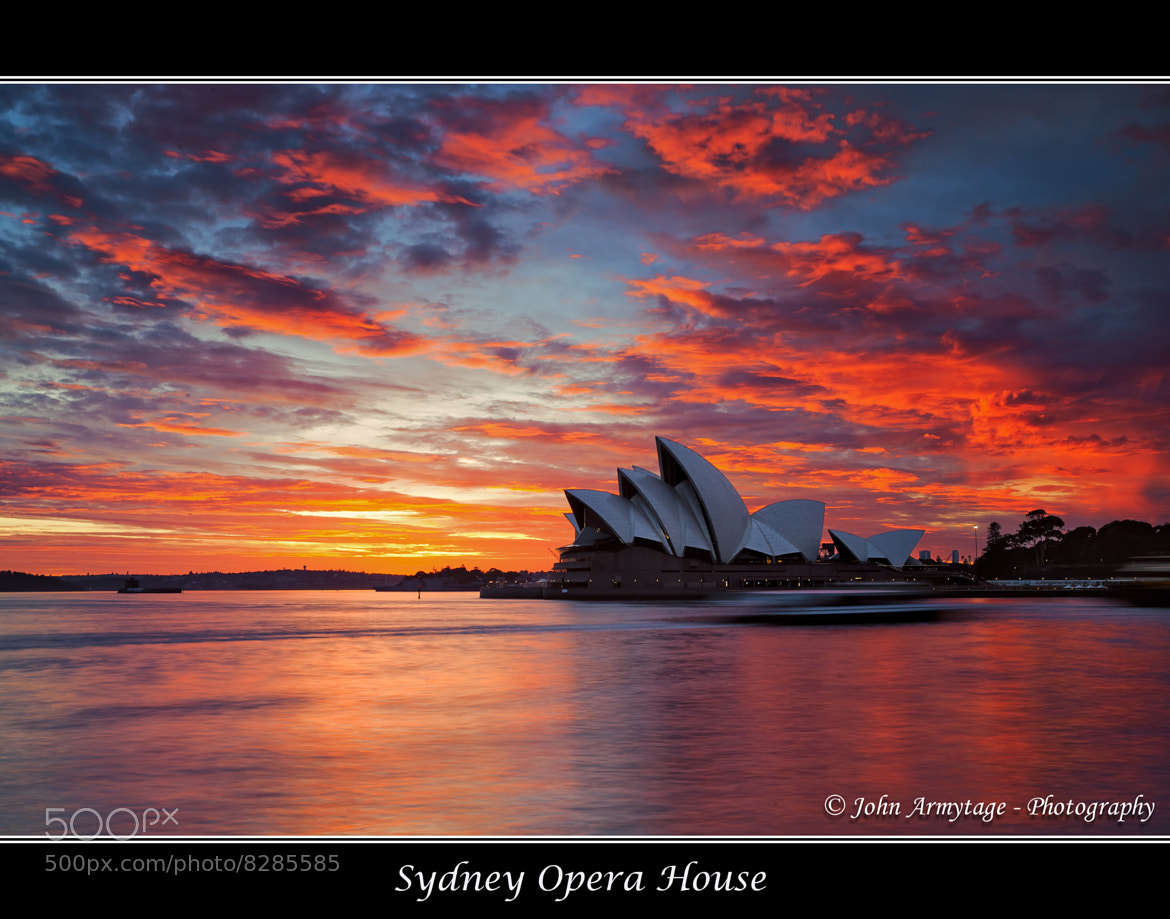 Photograph Sydney Opera House On Fire by John Armytage on 500px