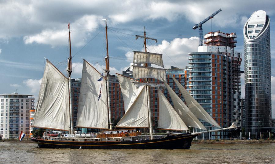 Parade of Sail - Gulden Leeuw