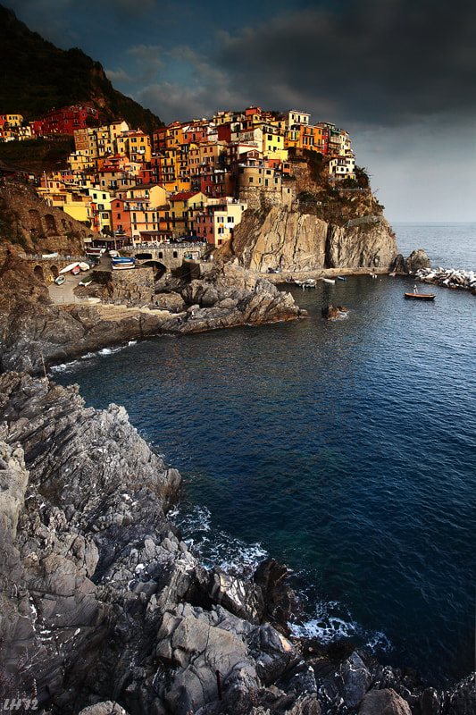 Photograph Manarola, Cinque Terre by Liron Ha on 500px