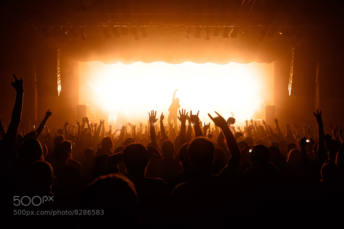 Photograph Asking Alexandria  by Adam Elmakias on 500px