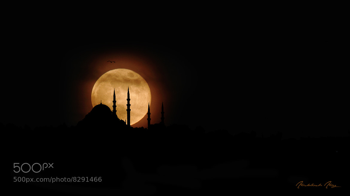 Photograph Super Moon by Abdulkadir Abaz on 500px