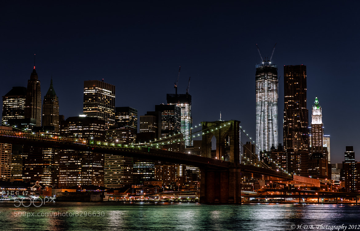 Photograph NYC Nights by Harold Begun on 500px