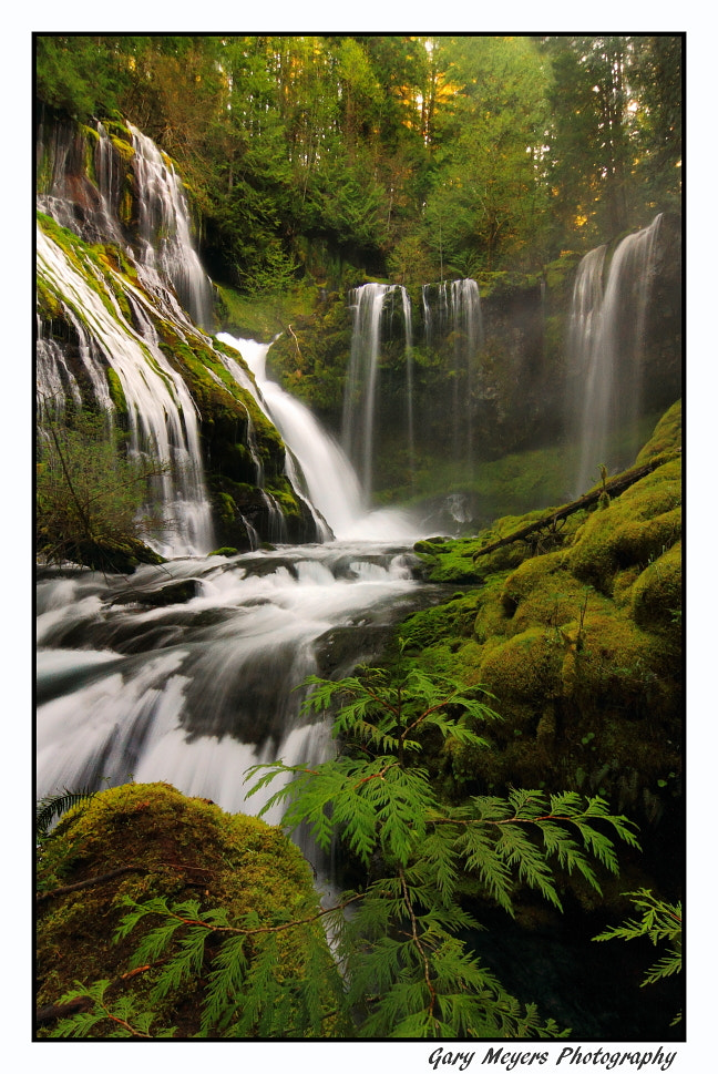 Photograph Panther Creek by Gary Meyers on 500px