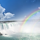 ������, ������: Rainbows at Niagara Falls