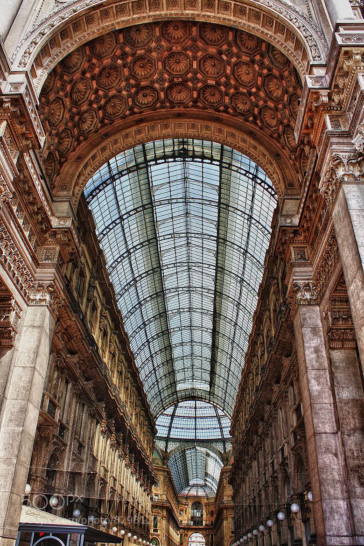 Photograph Milano, Galleria Vittorio Emanuele II by Domenico Vecchio S. on 500px