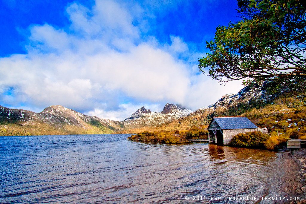 Photograph Dove Lake Boat Shed by Santanu Banik on 500px