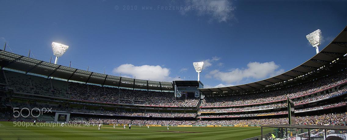 Photograph Boxing Day Test Match @ MCG by Santanu Banik on 500px
