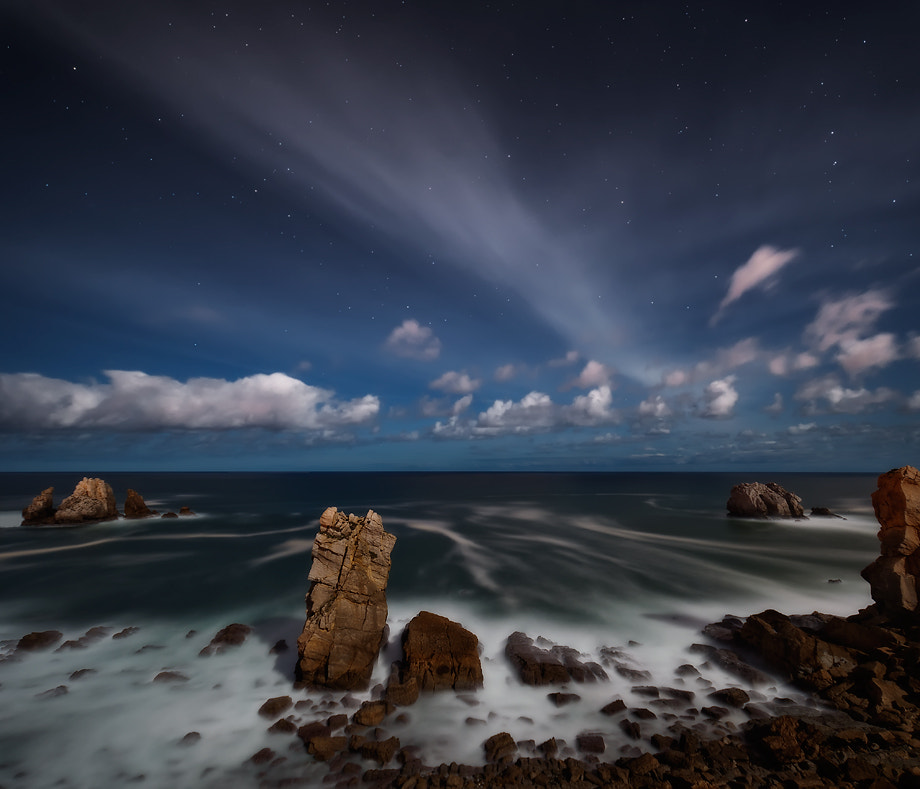 Photograph Clouds & stars by Alejandro Rivero on 500px
