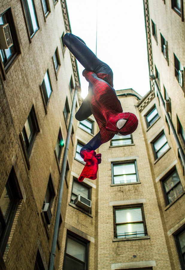 Photograph Spiderman by Niko Tavernise on 500px