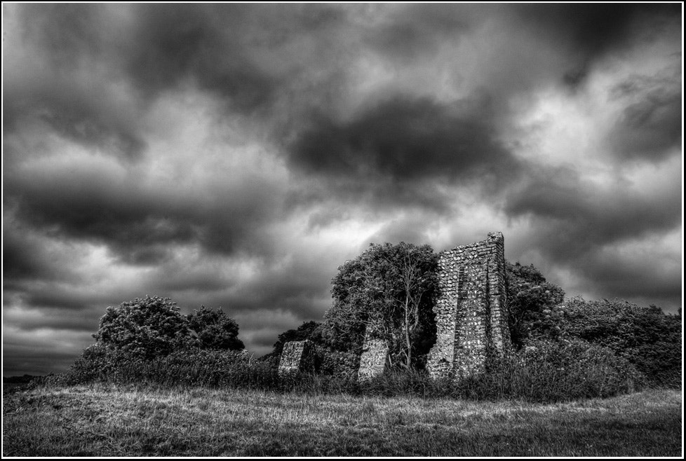 Photograph Old ruin (b&w) by Adrian Backshall on 500px