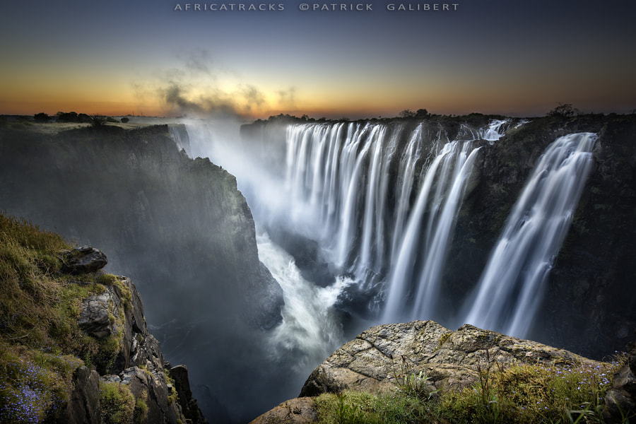 Photograph Victoria Falls Zambia, Long exposure. by Patrick Galibert on 500px