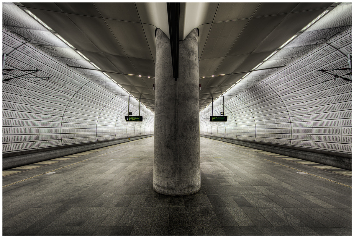 Photograph Triangelns Station by Thomas Juel on 500px