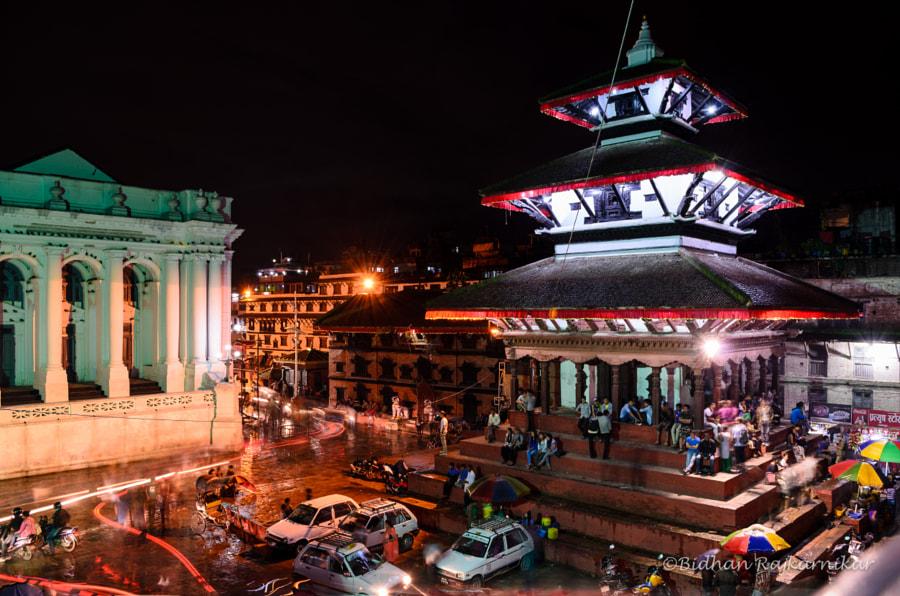 Basantapur Durbar Square by Bidhan Rajkarnikar on 500px.com